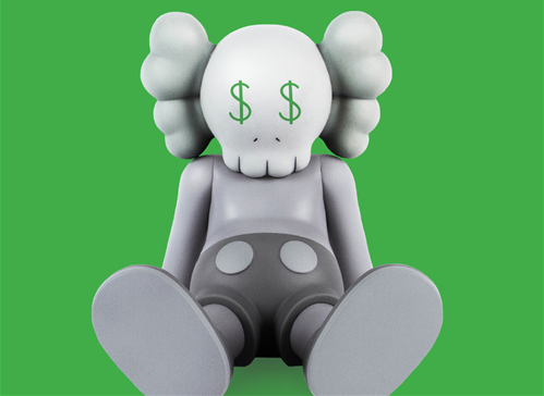 KAWS – Worth More Than His Weight in Gold. BUY NOW!?