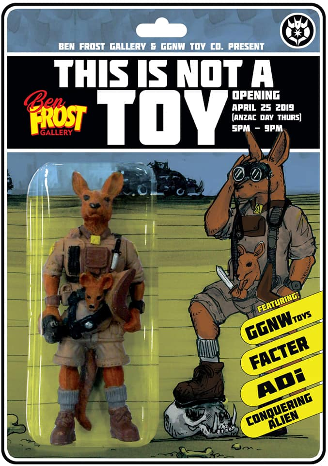 We Chat With Cipta Croft-Cusworth of 'Good Guys Never Win' aka 'GGNW' About Life, Toys, Art and his Upcoming 'This Is Not a Toy' Series of Group Shows
