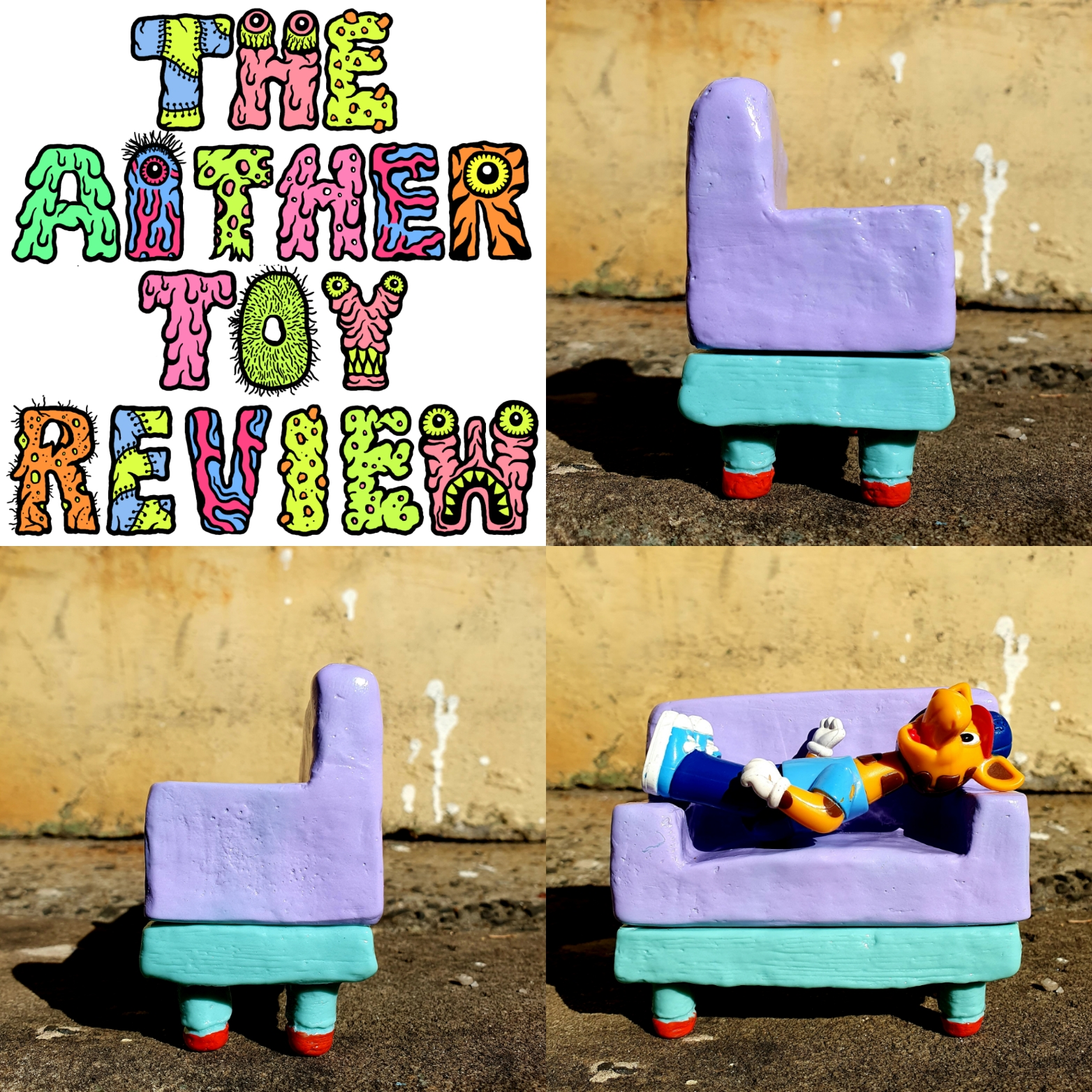Toy Review – Couch the Sofubi Sofa from Neil Ewing