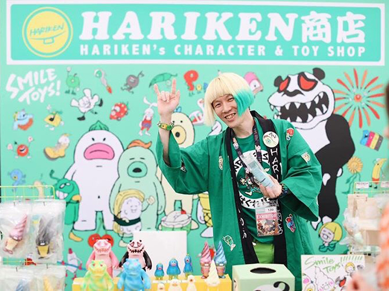 Interview – Hariu Kenichi / Kenichi Hariu of 'Hariken.'