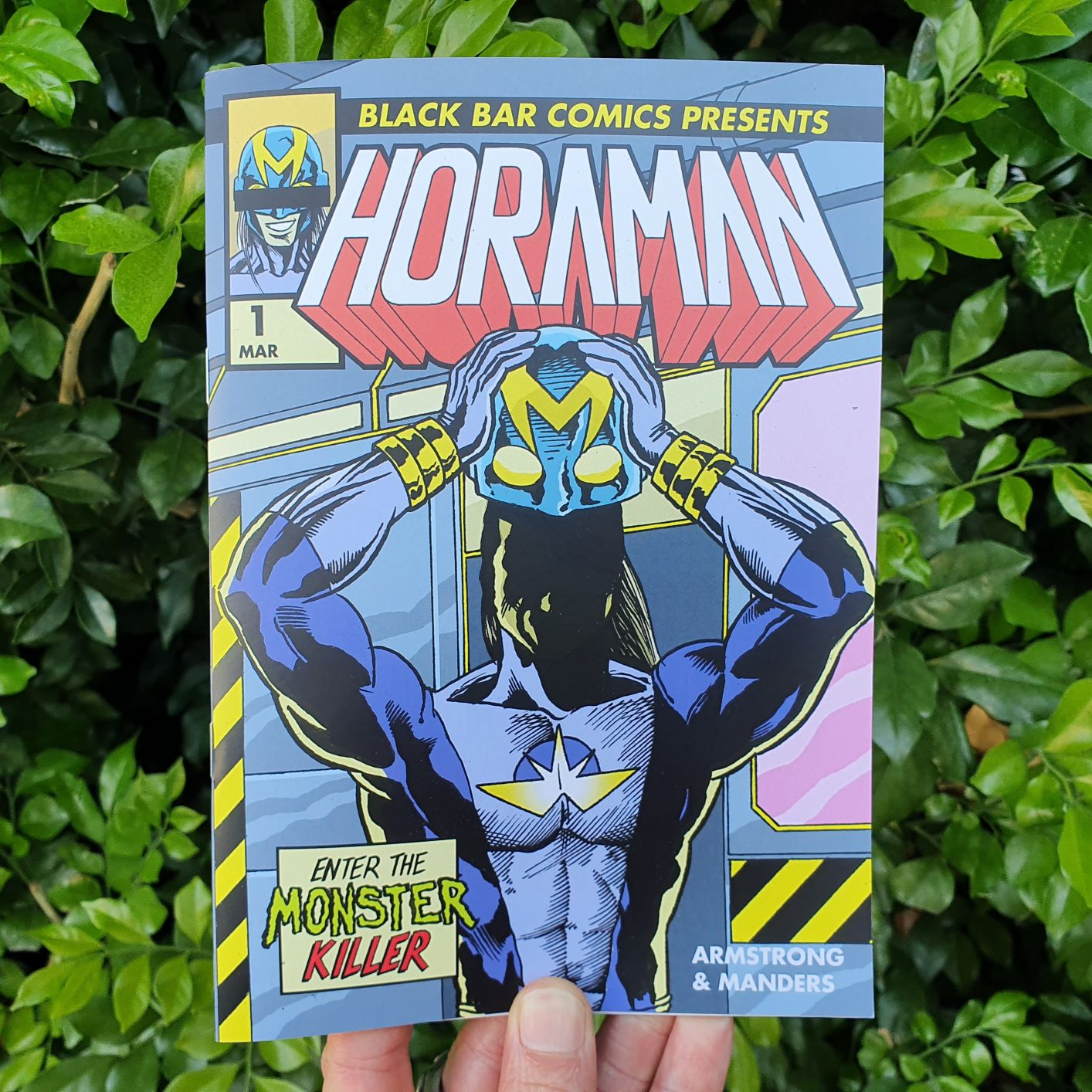 Comic Review – 'Horaman No. 1' from writer Shayne Armstrong and artist Glenn Manders.