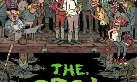 Comic Review – 'The Grot: The Story of the Swamp City Grifters, Book One' by Australians Pat Grant (Writer and Artist) and Fionn McCabe (Colorist.)