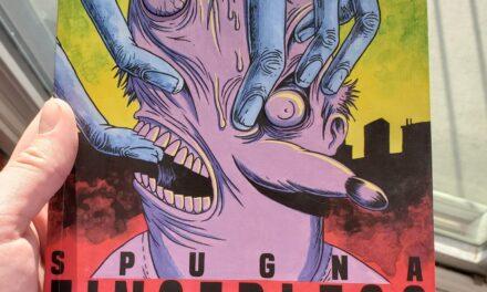 Comic Book Review – 'Fingerless' by Tommaso Di Spigna aka Spugna